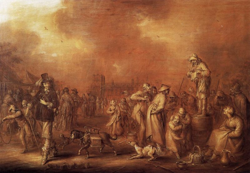 Where There Are People Money May Be Made 1652 | Adriaen Pietersz Van De Venne | oil painting