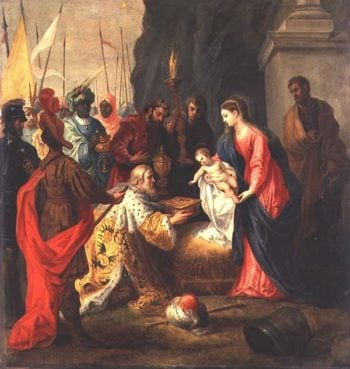 Adoration of the Magi | Hendrik van the Elder Balen | oil painting