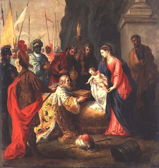 Adoration of the Magi | Hendrik van the Elder Balen | oil painting