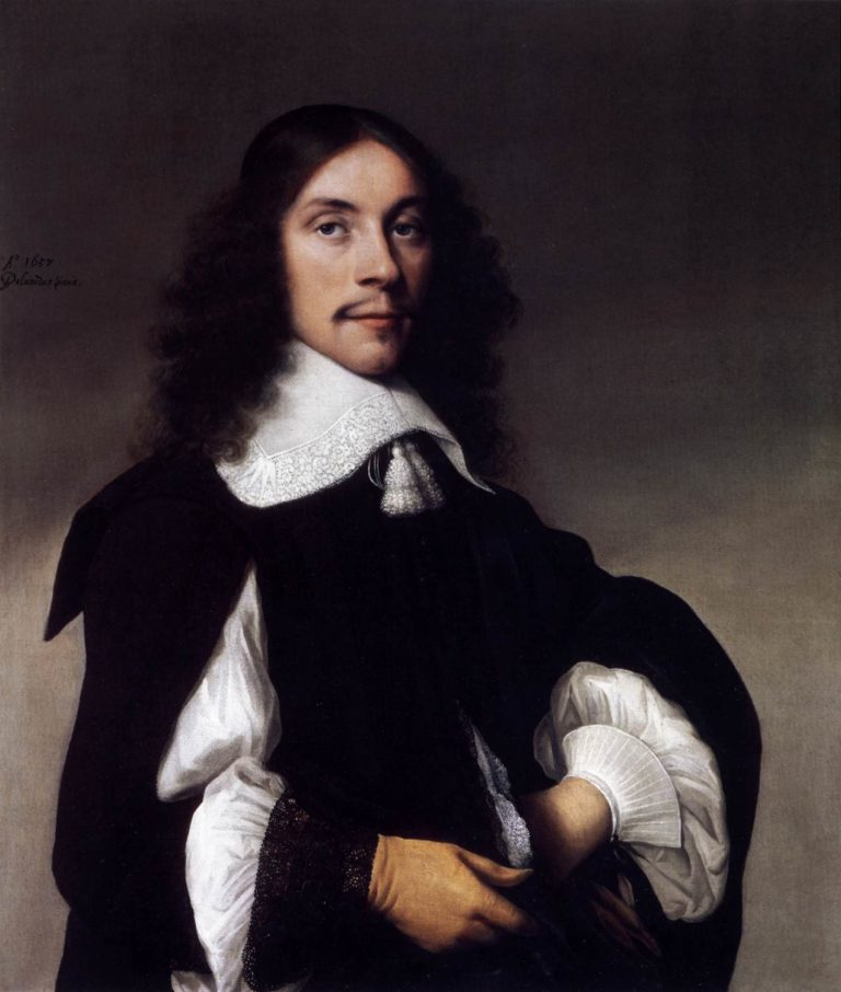 Portrait of a Gentlemen 1657 | Anthonie Palamedesz | oil painting