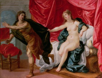 Joseph with Potiphar's wife | Hendrik van the Elder Balen | oil painting