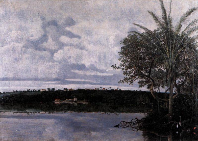 View of Frederiksstad in Paraiba