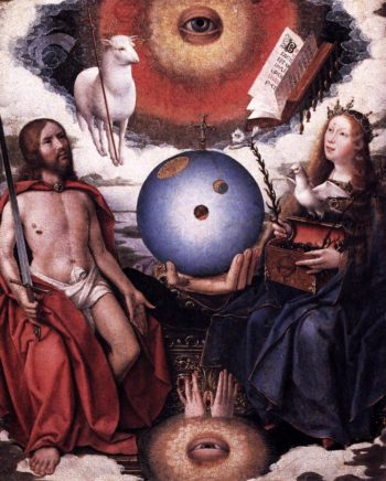 Christian Allegory 1510-15 | Jan Provost | oil painting