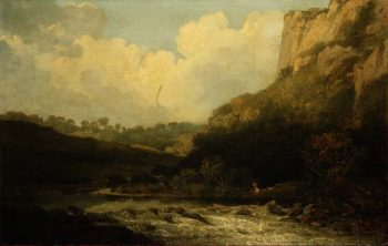 High Tor Matlock 1811 | John Crome | oil painting