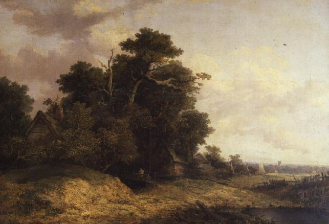 Landscape Scene in Norfolk | John Crome | oil painting