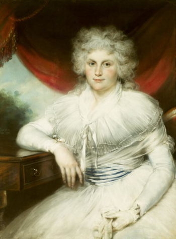 Dorothy Jordan   John Russel   oil painting