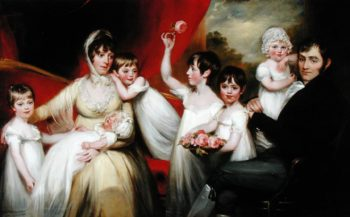 John Lee and his Family 1800 | John Russell | oil painting