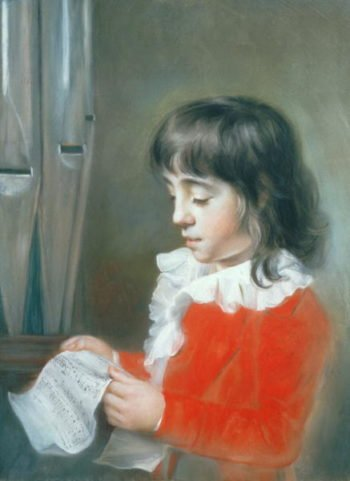 Master Groves a choirboy of the Chapel Royal   John Russell   oil painting