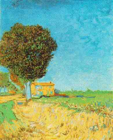 A Lane near Arles | Vincent Van Gogh | oil painting