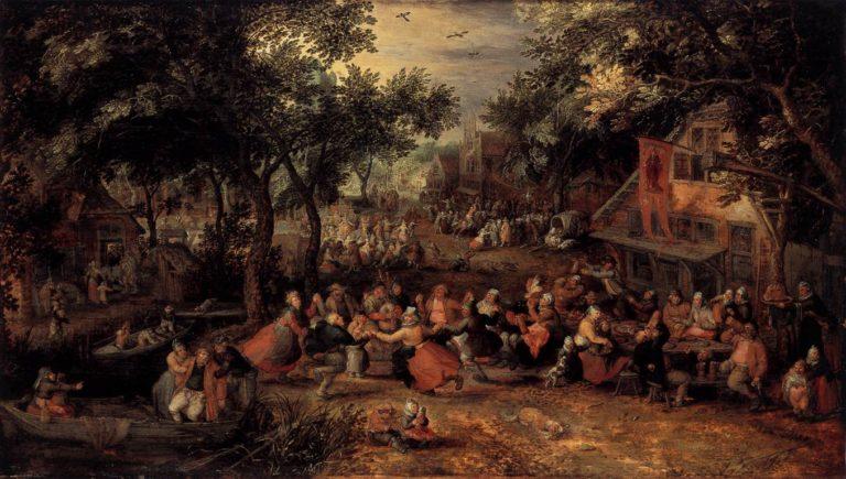 Kermis 1605 | David Vinckboons | oil painting
