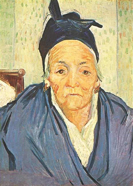 An Old Woman of Arles | Vincent Van Gogh | oil painting