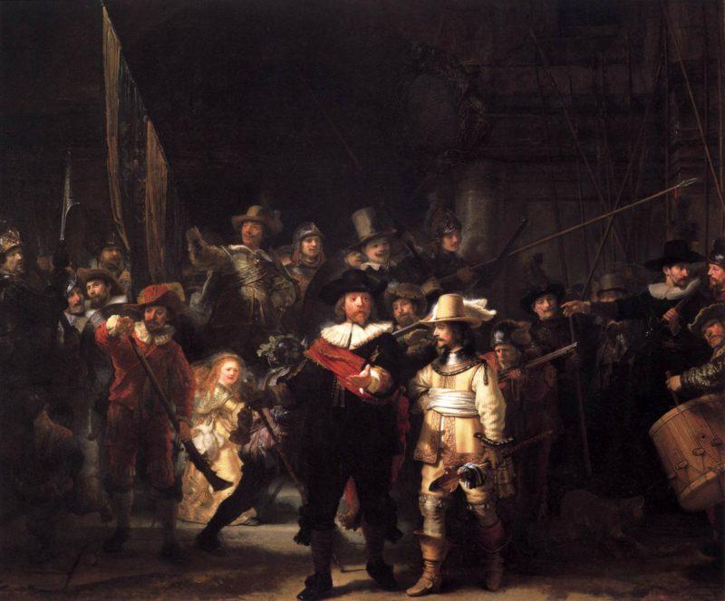 The Nightwatch 1642 | Rembrandt Harmenszoon Van Rijn | oil painting