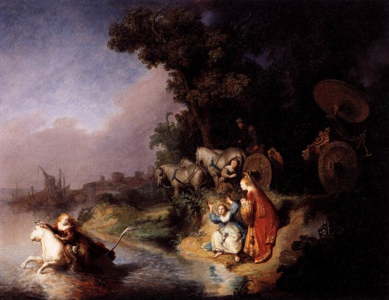 The Abduction of Europa 1632 | Rembrandt Harmenszoon Van Rijn | oil painting
