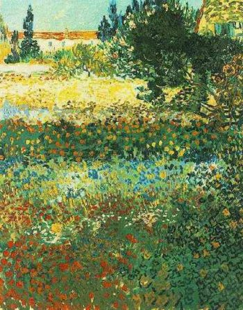 Flowering Garden | Vincent Van Gogh | oil painting