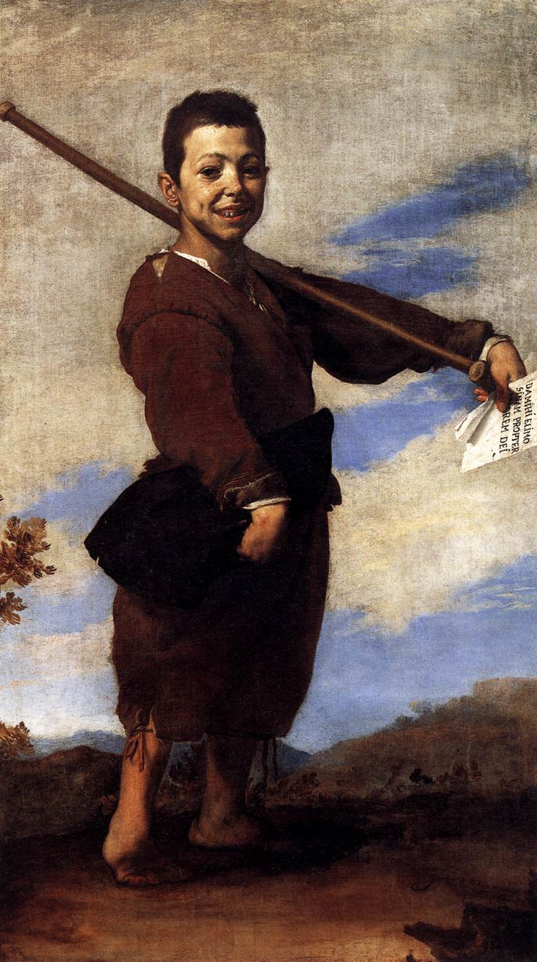 Clubfooted Boy 1642 | Jusepe De Ribera | oil painting