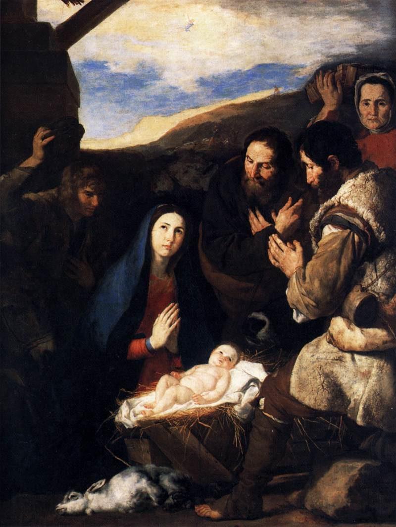 Adoration of the Shepherds 1650   Jusepe De Ribera   oil painting