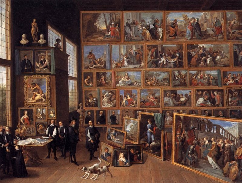 The Art Collection of Archduke Leopold Wilhelm in Brussels 1651 | David The Younger Teniers | oil painting