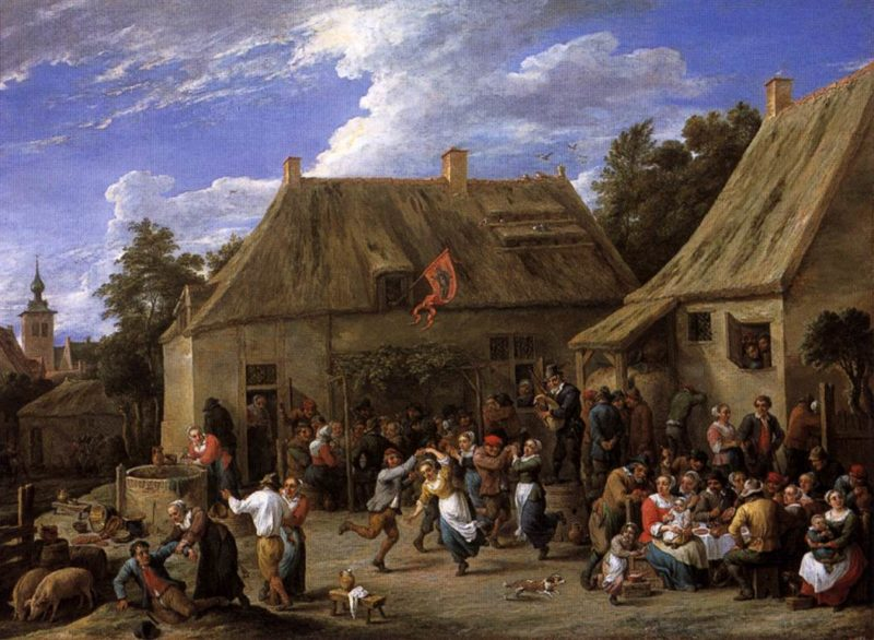 Country Kermis 1650   David The Younger Teniers   oil painting