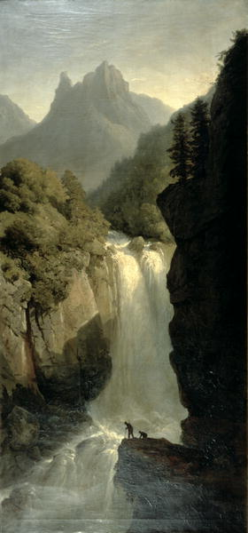 Waterfall in the Black Forest | Josephine Bowes | oil painting