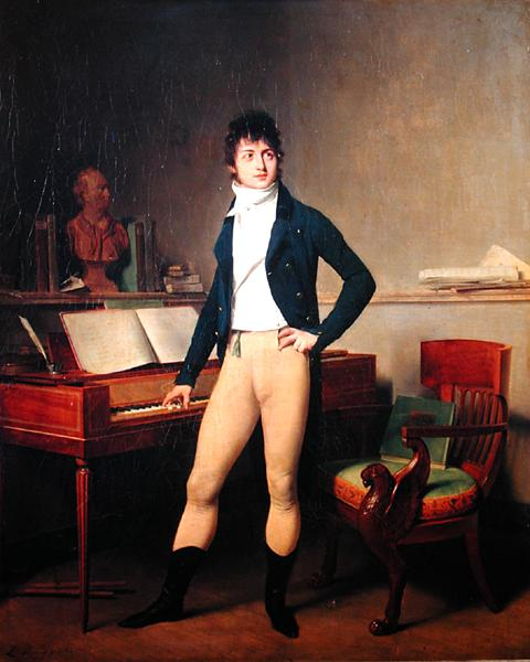 Francois Adrien Boieldieu | Louis Leopold Boilly | oil painting