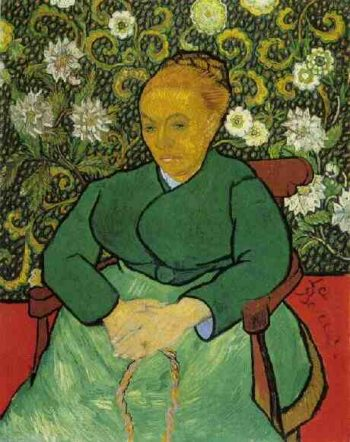 La Berceuse (Augustine Roulin) | Vincent Van Gogh | oil painting