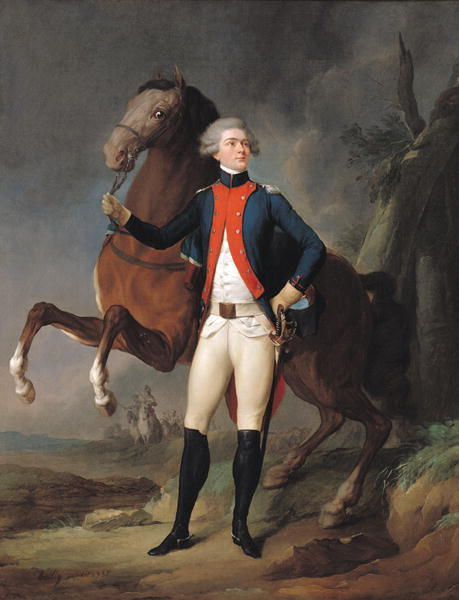 Gilbert Motier   Louis Leopold Boilly   oil painting