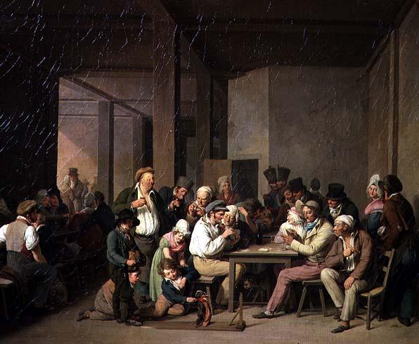 Inn Scene | Louis Leopold Boilly | oil painting