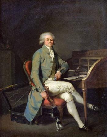 Maximilien de Robespierre | Louis Leopold Boilly | oil painting