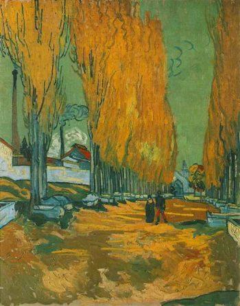 Les Alyscamps | Vincent Van Gogh | oil painting