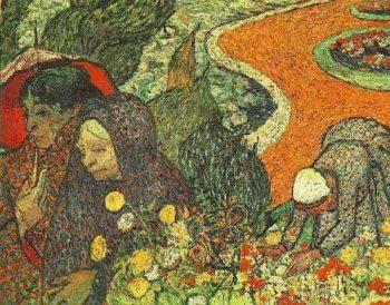 Memory of the Garden at Etten | Vincent Van Gogh | oil painting