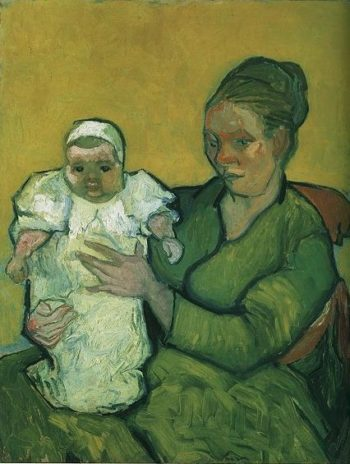 Mother Roulin with Her Baby | Vincent Van Gogh | oil painting
