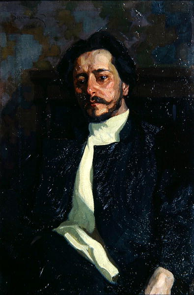 Portrait of Leonid Andreyev   Louis Leopold Boilly   oil painting