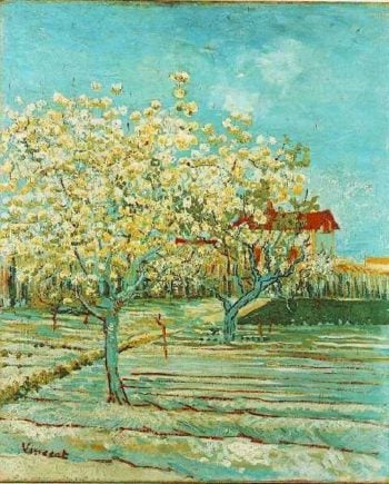 Orchard in Blossom version 3 | Vincent Van Gogh | oil painting