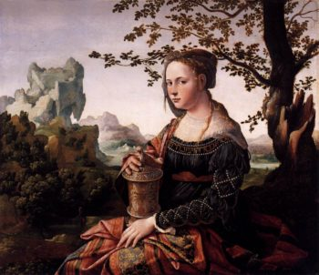 Mary Magdalen 1528 | Jan Van Scorel | oil painting