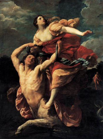 The Rape of Deianira 1621 | Guido Reni | oil painting