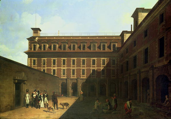The Prison des Madelonnettes | Louis Leopold Boilly | oil painting