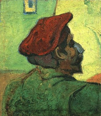 Paul Gauguin (Man in a Red Beret) | Vincent Van Gogh | oil painting