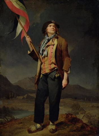 The Singer Chenard as a Sans Culotte 1792   Louis Leopold Boilly   oil painting