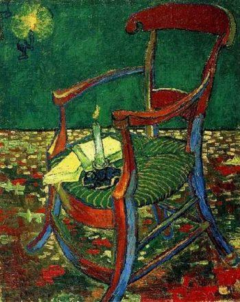 Paul Gauguins Armchair | Vincent Van Gogh | oil painting