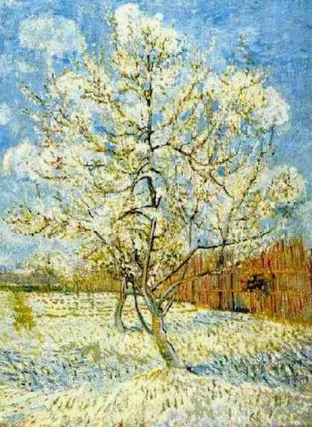Peach Tree in Blossom | Vincent Van Gogh | oil painting