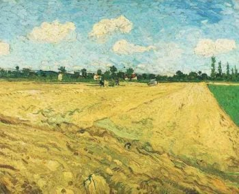 Ploughed Field | Vincent Van Gogh | oil painting