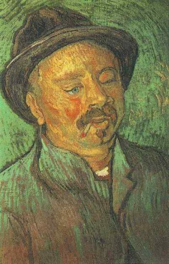 Portrait of a One-Eyed Man | Vincent Van Gogh | oil painting