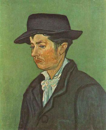 Portrait of Armand Roulin version 2 | Vincent Van Gogh | oil painting