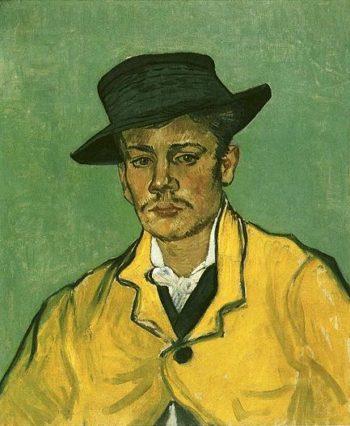 Portrait of Armand Roulin | Vincent Van Gogh | oil painting