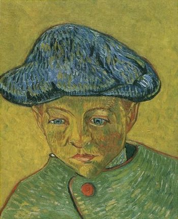 Portrait of Camille Roulin version 2 | Vincent Van Gogh | oil painting