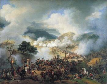 Battle of Somosierra November 30th 1808 | Louis Lejeune | oil painting