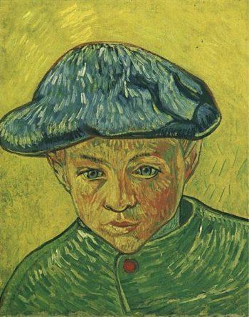 Portrait of Camille Roulin | Vincent Van Gogh | oil painting