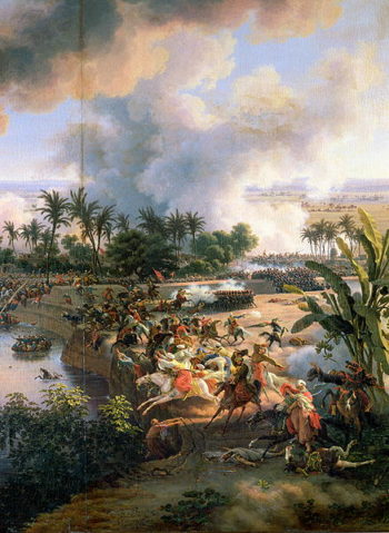 Battle of the Pyramids 21st July 1798 1806 | Louis Lejeune | oil painting