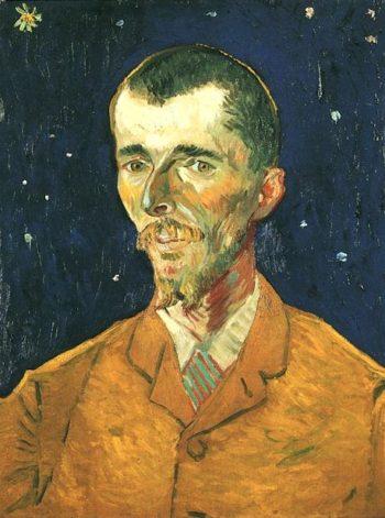 Portrait of Eugene Boch | Vincent Van Gogh | oil painting