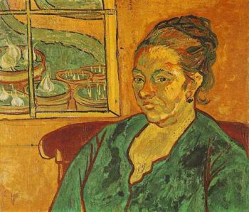 Portrait of Madame Augustine Roulin | Vincent Van Gogh | oil painting